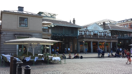 A pic I took at Covent Garden, summer 2014.